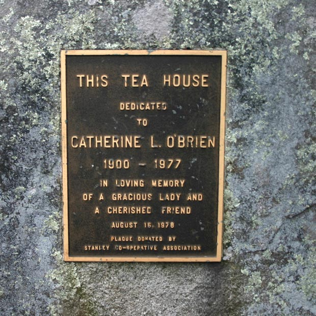 Catherine L. O'Brien Memorial stone view