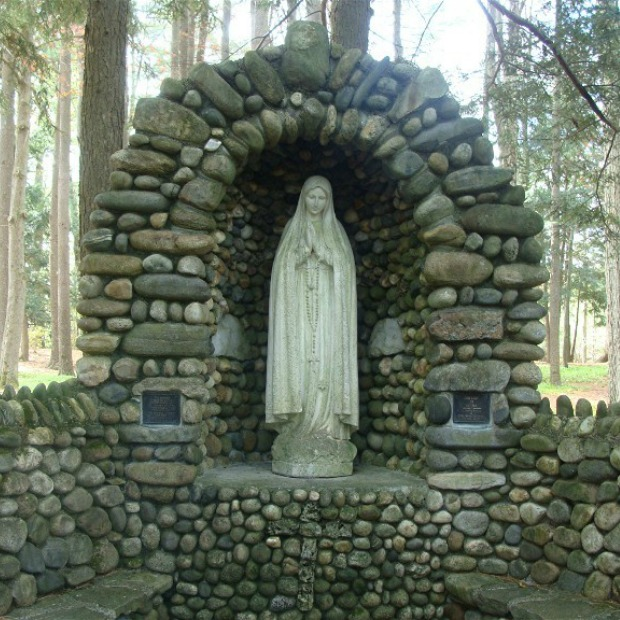 Shrine Area Mary