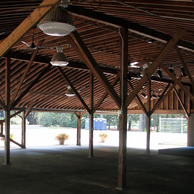 Beveridge Pavilion Annex inside view